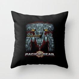 Pacific Gear Throw Pillow