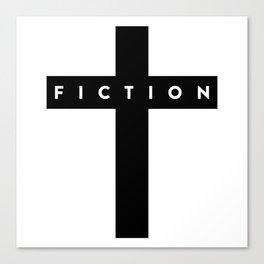 Fiction Cross Light Canvas Print