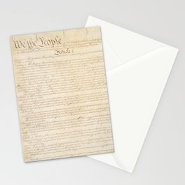 Constitution of the United States, Page 1, 1787 Stationery Cards