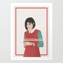 Yumna Kemal Art Print