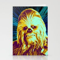 chewbacca Stationery Cards featuring Chewbacca by victorygarlic