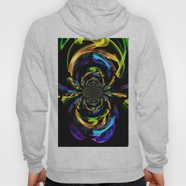 Valley Of The Rainbow In Abstract Hoody