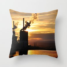At What Cost Throw Pillow