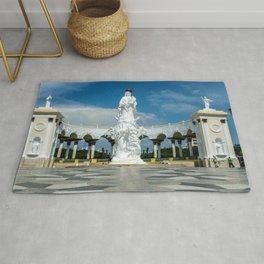 Venezuela Monuments Monument Of The Virgin, Maracaibo Angels Cities angel Rug