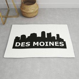 Des Moines Skyline Rug