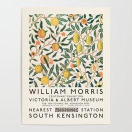 William Morris Art Exhibition Poster