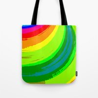 pride Tote Bags featuring Pride by Vix Edwards - Fugly Manor Art