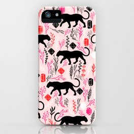 Cute Panther iPhone Case