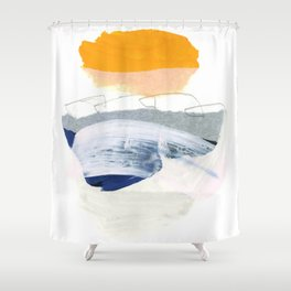 collage studies 18-04 Shower Curtain