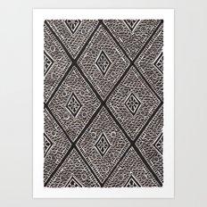 Textile 2 Art Print