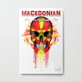 To The Core Collection: Macedonia Metal Print