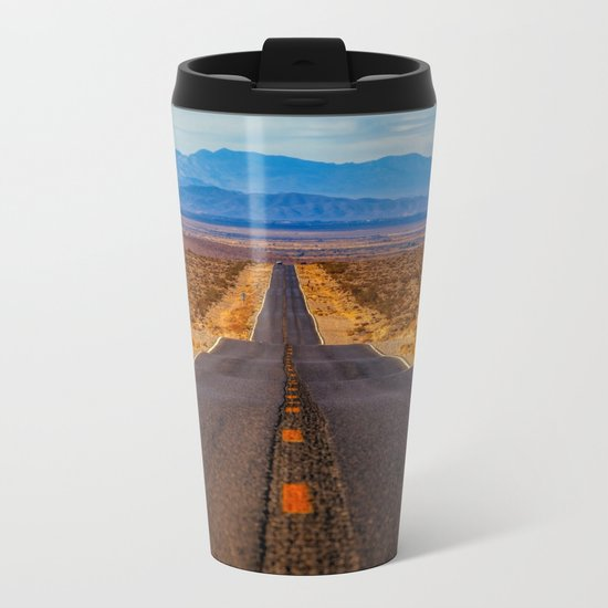 Desert Highway Metal Travel Mug