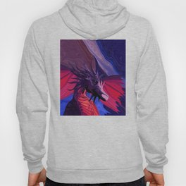 Jewel Toned Dragon of the Amethyst and Ruby Caverns Hoody