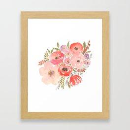 Flower Profusion Framed Art Print