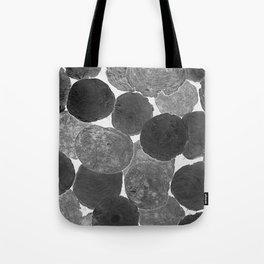 Abstract Gray Tote Bag