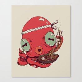 Spicy Ramen Canvas Print