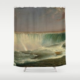 Frederic Edwin Church - Niagara Falls Shower Curtain