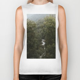 Forest Valley River - Landscape Photography Biker Tank