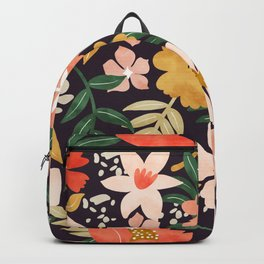 Modern meadow blooming Backpack