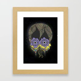 The mask we wear is one Framed Art Print