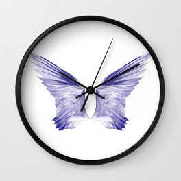 Crystal Wing by Fernanda Quilici Wall Clock