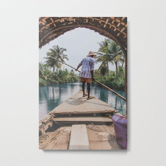 Rivers of India Metal Print