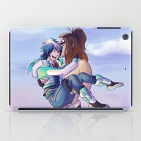 yaoi iPad Cases featuring Mink & Aoba by mishybelle