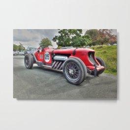 Vintage Napier Bentley Racing Car Metal Print