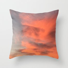 Rosa Breeze Throw Pillow