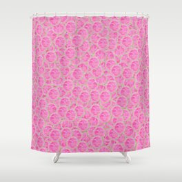 Guava Slice Pattern Shower Curtain
