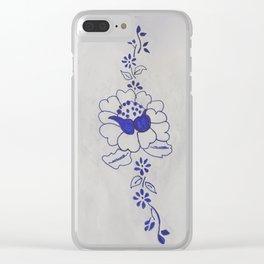 Bloemenkunst Clear iPhone Case