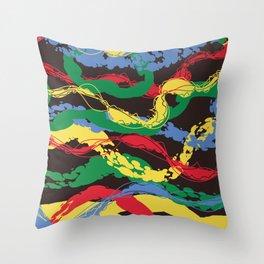Plastic Dawn Throw Pillow