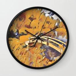 Dreamland Gold Wall Clock