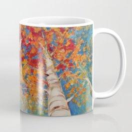 Birch tree point of view Coffee Mug