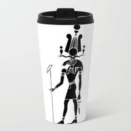 Khensu - God of ancient Egypt Travel Mug