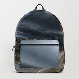 Mothership - Intense Autumn Storm Advances Over Oklahoma Plains Backpack