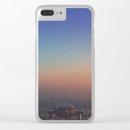 From up here Clear iPhone Case