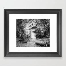Frozen Light Framed Art Print