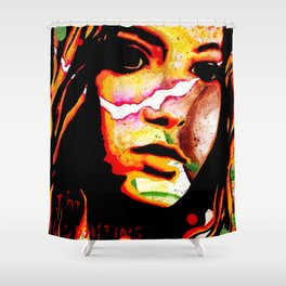 The Girl Who Waited Shower Curtain