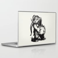 ganesha Laptop & iPad Skins featuring Ganesha by MAZUR