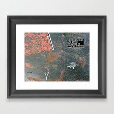 New Beginnings! Framed Art Print