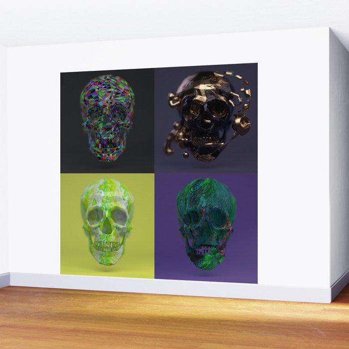 Skull Collection 01 Wall Mural