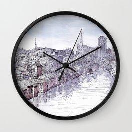 Shunde. China. River Wall Clock