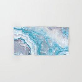 Ocean Foam Mermaid Marble Hand & Bath Towel