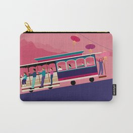 San Francisco Tram on the Hill Carry-All Pouch