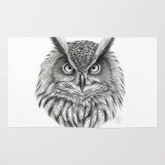 Bubo bubo G2012-046 owl Rug