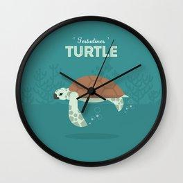 The Sea turtle Wall Clock