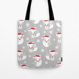 THE SPELL OF THE CHRISTMAS FOXES 2 Tote Bag