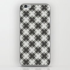 Monotone loops iPhone & iPod Skin