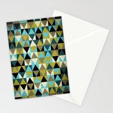 Triangles I Stationery Cards